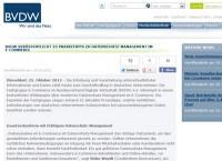 BVDW Whitepaper Datenschutz